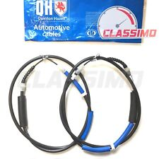 Rear Handbrake Cable Pair for FORD MONDEO Mk 3 Saloon - 2000 to 2007 - QH