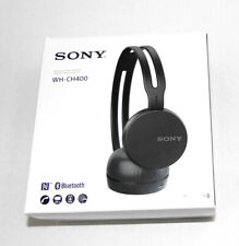 Sony WH-CH400 Wireless Bluetooth Headphones WHCH400/B Black