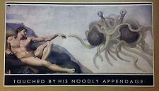 "Spaghetti Monster GIANT WIDE 42"" x 24"" Anti Religious Athiest Agnostic God jesus"