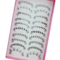 10 Pairs Different Style Lower Bottom Eye Lashes Extension False Eyelashes Hot