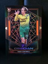 2019-20 PANINI OBSIDIAN SOCCER ROOKIE ORANGE 06/35 [ TODD CANTWELL ] NORWICH