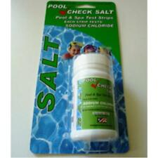 Swimming Pool Salt (Chlorinator) level Test Strips- Pool & Spa Water Test Kit