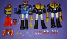 Jumbo Machinder junior mini Daikengo Kimpo Warrior Robot lot Ko Bootleg parts