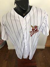MENS XLarge Baseball Jersey Kansas City T-Bones #14 SGA