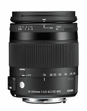 Sigma 18-200 mm F3, 5-6, 3 Dc Macro HSM [C] pour sony A-Mount Neuf