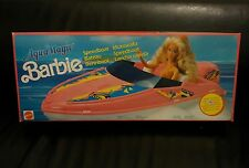 Scatola Barbie AquaMagic Speedboat Motoscafo