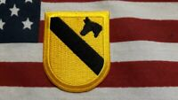 US ARMY 1ST CAVALRY DIVISION BERET FLASH  HQ C/E