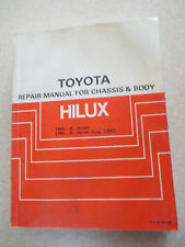 1983 Toyota Hilux chassis & body manual - YN and LN series