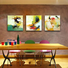 Framed Home Decor Paintings Abstract Watercolor Picture Printed Canvas Wall Art