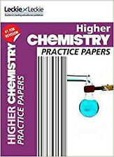 CfE Higher Chemistry Practice Papers for SQA Exams (Practice Papers for SQA Exam