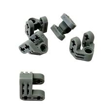 2x Pin Double with Axle Hole gris//light bluish gray 32138 NEUF Lego technic