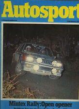 Autosport February 22nd 1979 *Henri Toivonen interview*
