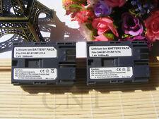 Two 1600mAh Batteries For Canon BP-508 / BP-511 / BP-511A / BP-512 / BP-514 X2