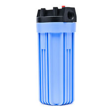 Pentek 150067 Standard Blue 10 x 2.5 Inch Water Filter Housing 3/4 NPT
