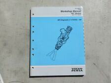 1995 Volvo Penta Hu Models Mfi Diagnostic 7.4 Gi/Gsi Gm Service Manual 7788854-3