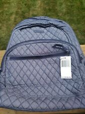 Vera Bradley MOONLIGHT NAVY Backpack And Lunch Bag NWT