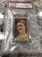 PSA 1926 W512 TY COBB #3 AUTHENTIC CARD REAL TY COBB CARD GRADED!