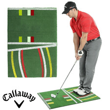 CALLAWAY PURE PITCH GOLF CHIPPING MAT / DISPLAYS BALL POSITION & SWING PATCH