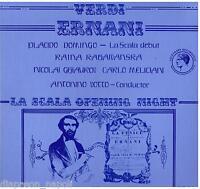 Verdi: Ernani / Votto,Kabaivanska,Domingo,Ghiaurov,Mailand 7/12/1969 LP NM/NM