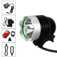 6000Lm XM-L T6 LED Bicycle Bike light HeadLight Head lamp Rechargeable 6400mAh