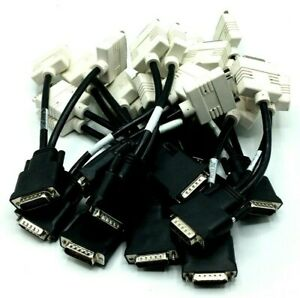 (Lot of 12) Dell Molex DMS-59 Dual DVI Y-Splitter Cable, H9361