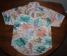 Women's   Maggie Sweet   button up      Blouse  top   large