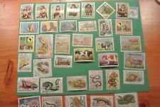 Assorted 27 Animals Miscellaneous Stamps