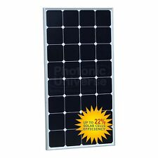 100W Solar Panel (Back-Contact Cells) for Motorhome, Caravan, Camper, Boat/Yacht