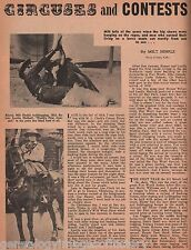 101 Ranch History of Circuses, Rodeos & Shows+Beason,Binder,Byers,Canutt,Caskey,