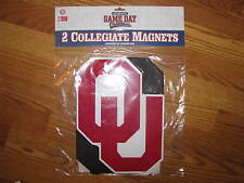 NIP! University of Oklahoma Sooners Car Magnets 2 pack