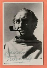 More details for tom walls actor signed autograph plain back pc sized card ah727