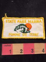 Vintage Missouri POMME DE TERRE STATE PARK Patch - Marina 82XX