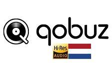 Qobuz Studio Hi-Res 12 Maanden Met Uw Persoonlijke Account