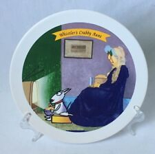 Hallmark Maxine Whistlers Crabby Aunt Collectible Dessert Plate Old Lady 7.5""