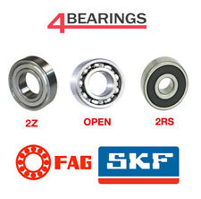 Bearings FAG/SKF 6000-6300 Open 2RS 2Z Standard C3 Clearance
