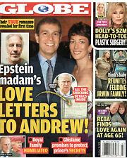 Globe Magazine October 26 2020 Ghislaine Maxwell Prince Andrew Dolly Parton