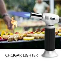 1* Adjustable Cooking Blow Torch Refillable Butane Baking Flame Lighter A6C5