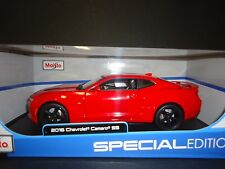 Maisto Chevrolet Camaro SS 2016 Red 1/18