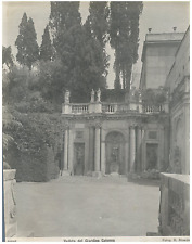 Florence, Veduta del Giardino Colonna Vintage silver print Tirage argentique d