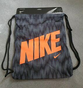 BNWT Nike GymSack Unisex Drawstring Backpack Gym Training Bag PE Kit