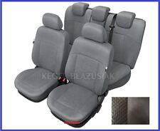 Alcantara Tailored Full Set Seat Covers For SKODA OCTAVIA Mk2/  II 2004 - 2013