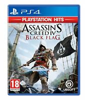 Assassin's Creed 4 Black Flag Ps Hits PS4 PLAYSTATION 4 Ubisoft
