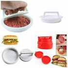 Plastic Hamburger Press Stuffed Burger Meat Grill Party BBQ Burger Maker Mould