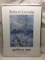 "Art Poster Advertising Robert Laessig Framed 18"" X 24"""