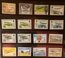 Solomon Islands Aircraft & Aviation Stamps Lot of 16 - MNH -See List