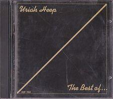 Uriah Heep The Best Of Uriah Heep Japan 1st CD 1986 VDP-1150 Very Rare