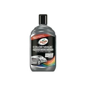 Turtle Wax Color Magic Prestige Silver 500ml Complete with Free Delivery