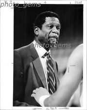 Bill Russell Close-Up in Game Original Photo