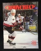 Vintage Ottawa Senators Bodycheck Magazine Alexei Yashin 1994 Vol 2 # 4