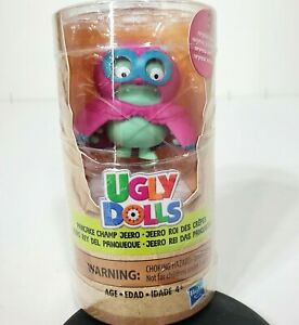 "Hasbro Ugly Dolls ""Pancake Champ Jeero Brand New Sealed Collectible Figures"